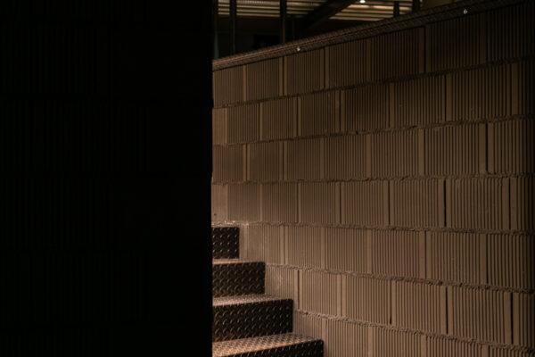 Fotografía arquitectónica. Acceso sala de catas