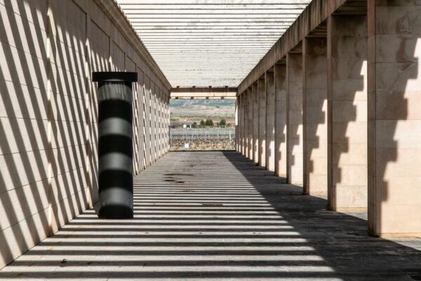 Fotografía arquitectónica con sombras